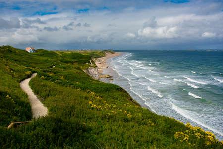 northern ireland: Sandy Beach near Portrush in Northern Ireland