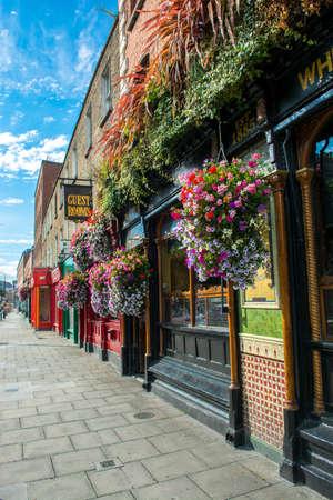 Pub en Dublín en Irlanda
