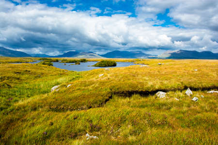 Landscape of Connemara in Ireland Imagens