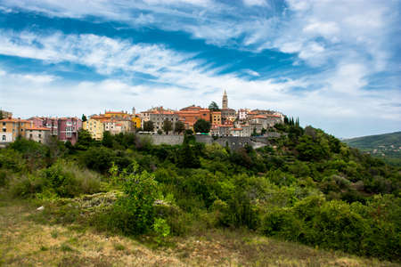 City of Labin in Istria in Croatia Reklamní fotografie