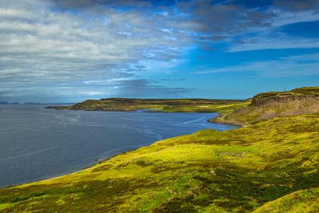 Picturesque Coastal Landscape Near Uig On The Isle Of Skye In Scotland