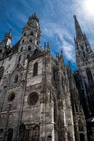 Cathedral Stephansdom In The Inner City Of Vienna In Austria