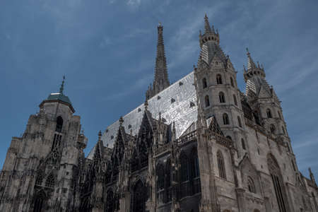 Cathedral Stephansdom In The Inner City Of Vienna In Austria Imagens