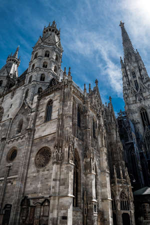 Cathedral Stephansdom In The Inner City Of Vienna In Austria Editorial