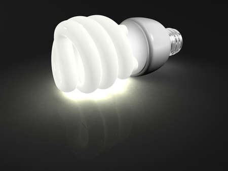 An 3d environment friendly compact fluorescent light