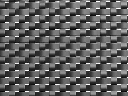 a front view of a grey weave pattern