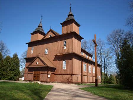 narew: Church in Narew 5 Stock Photo