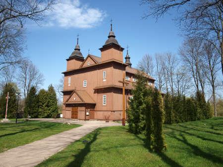 Church in Narew Stock Photo