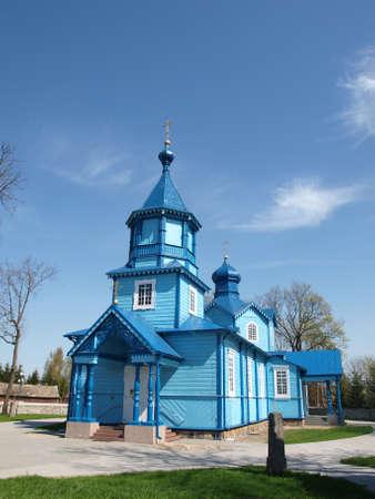 Iglesia ortodoxa en Narew 3 Foto de archivo