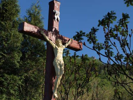 Cruce de los Sudetes Foto de archivo