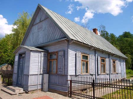 Old Baptist church in Bialowieza
