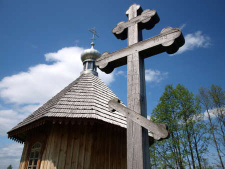 Orthodox church in Bialowieza 8