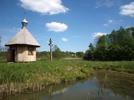 Orthodox church in Bialowieza 3
