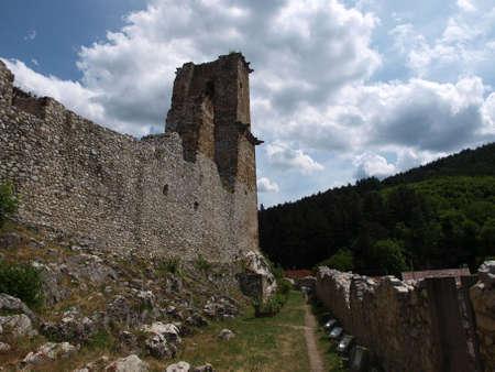 Miskolc castle Stock Photo