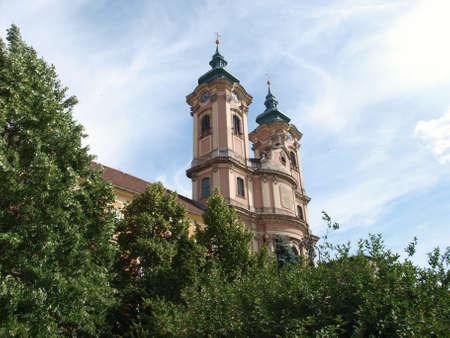 Iglesia en Eger 3 Foto de archivo