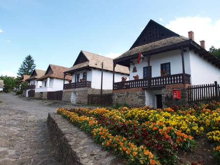 Holloko old houses