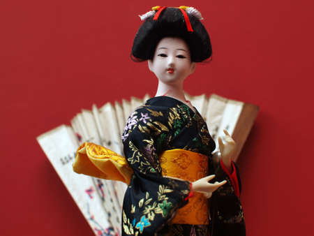 Japanese doll 3 Stock Photo - 17832012