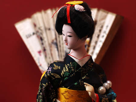 Japanese doll 1 photo
