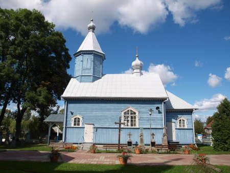 stary: Stary Kornin orthodox church Stock Photo