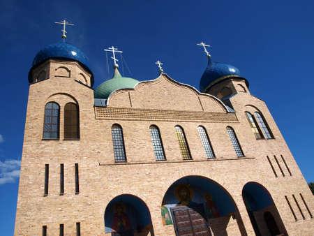 Orthodox church from Czye, Podlasie Poland 2 Stock Photo