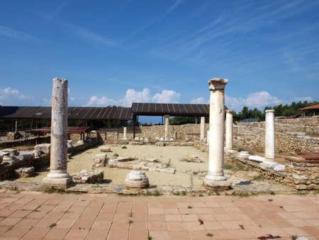 Restos arqueol�gicos de Ohrid