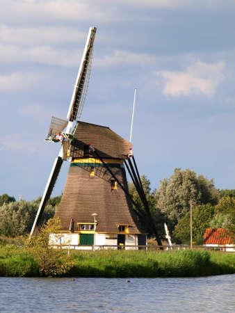 Windmill in Netherlands