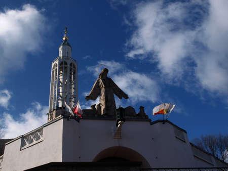 Bialystok iglesia de Saint Roch Foto de archivo