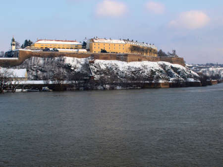 Novy Sad fortress and Danube river
