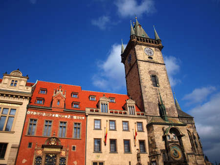 G�tico del ayuntamiento de Praga