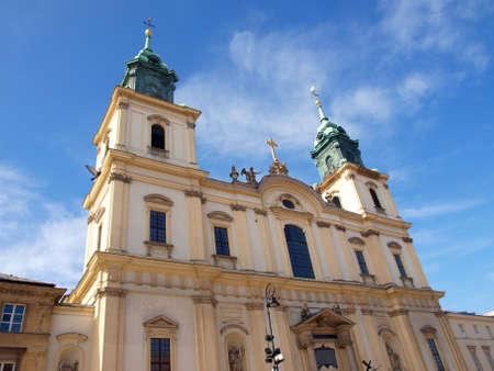 Saint cross church from Warsaw