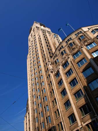 Torengebouw - the oldest skycraper building in Europe, Antwerp Belgium