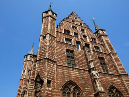 Gothic church from Antwerp