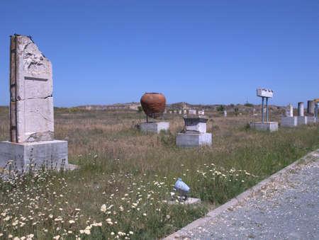 Ancien ruins from Histria, Romania