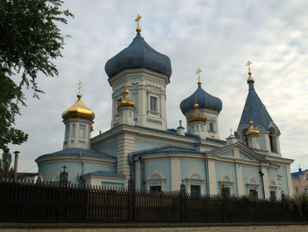 Orthodox church from Chisinau, Moldawia Stock Photo