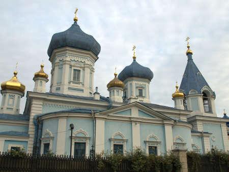 Iglesia ortodoxa Chisinau Moldawia Foto de archivo