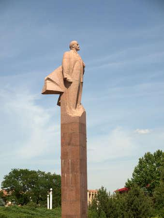 Lenin monument from Tiraspol Transnistria