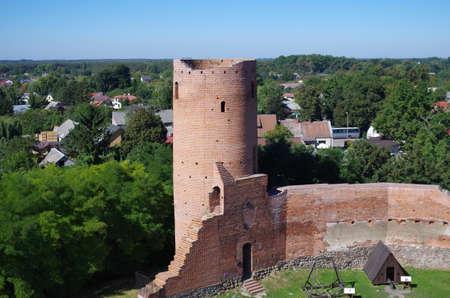Czersk castle Editorial
