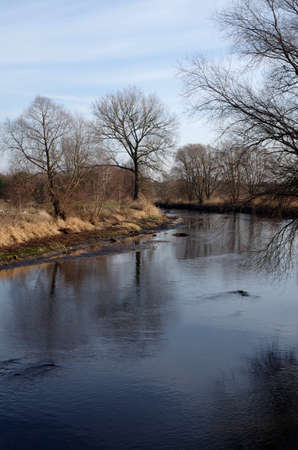 Ner river near Lutomiersk