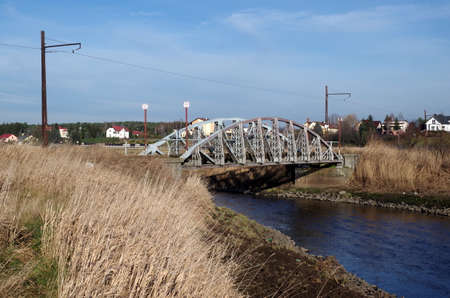 Old tram bridge near Lutomiersk