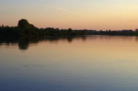 Vistule river in Poland