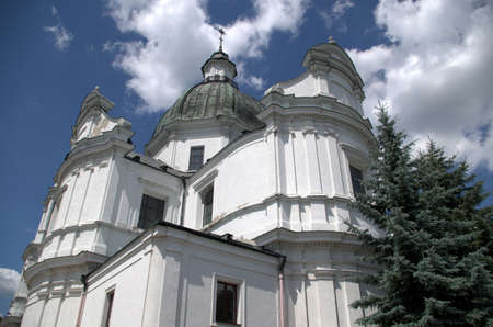Catholic cathedral in Chelm near Lublin Poland Stock Photo