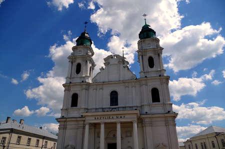 Catedral cat�lica Che?m cerca de Lublin en Polonia
