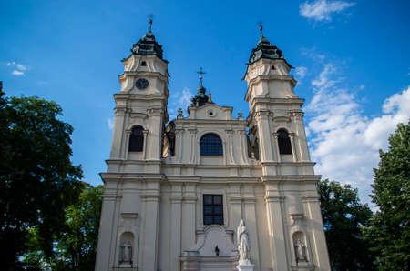 Catholic church in Włodawa near Lublin Poland