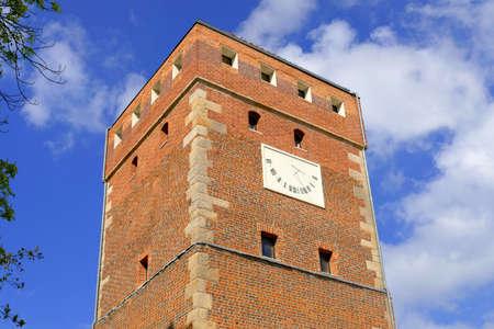 retained: Fragmento de la ciudad vieja en Silesia en Legnica. A pesar de las numerosas demoliciones y demoliciones hechas por los comunistas, la ciudad ha conservado muchos hermosos edificios del pasado.