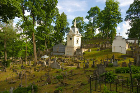 Rossie Cemetery - one of the most beautiful cemeteries in Vilnius. The place where many Poles and soldiers were fighting for Vilnius.