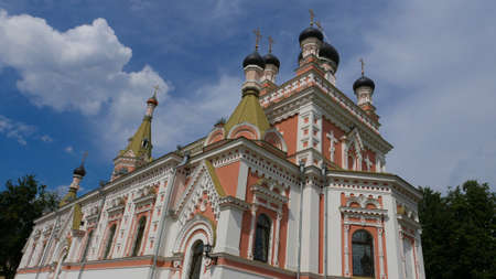 Orthodox church in Grodno, Belarus. The temple is a place of religion and worship, one of the examples of multiculturalism of the city and the country.