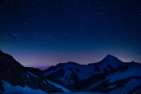 Stars above the alps