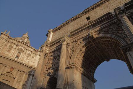 severus: Arch of Septimius Severus, roman forum