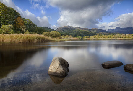 Elterwater, Little Langdale valley, Lake District, England Stock Photo - 25228312