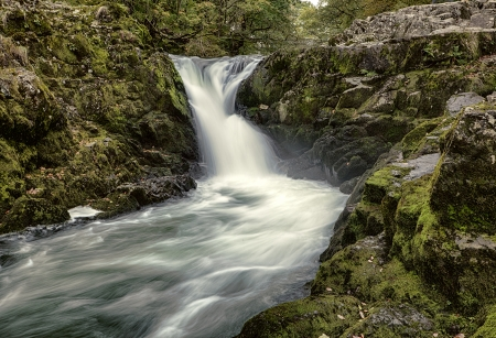 lake district england: Skelwith Force, Skelwith Bridge, Lake District, England